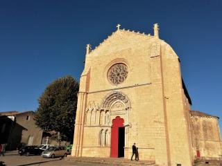 St Macaire - L'église St Sauveur