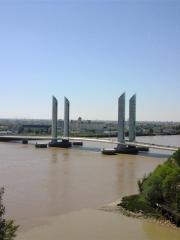 Bordeaux - La Garonne,  le pont Chaban Delmas