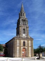 L'église de Saint Maixant