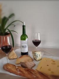 Vin rouge & fromages